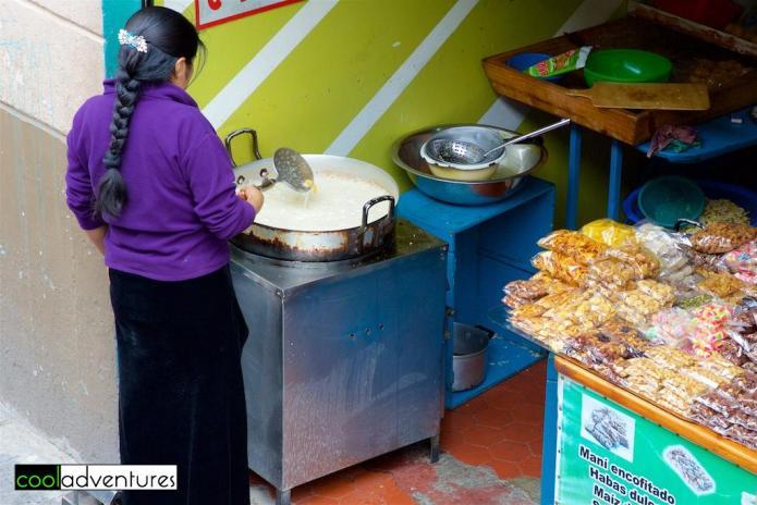Old Town food vendors, Quito, Ecuador