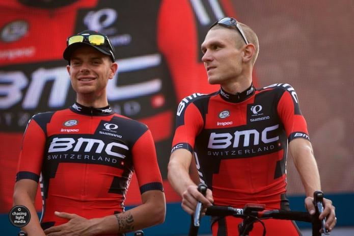 Damiano Caruso, Tejay Van Garderen, BMC Racing Team, Tour de France 2015, Grand Départ