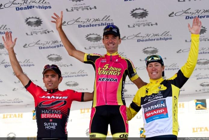 Tour of Utah 2013 Stage 6, Janier Acevedo, Francisco Mancebo, Tommy Danielson