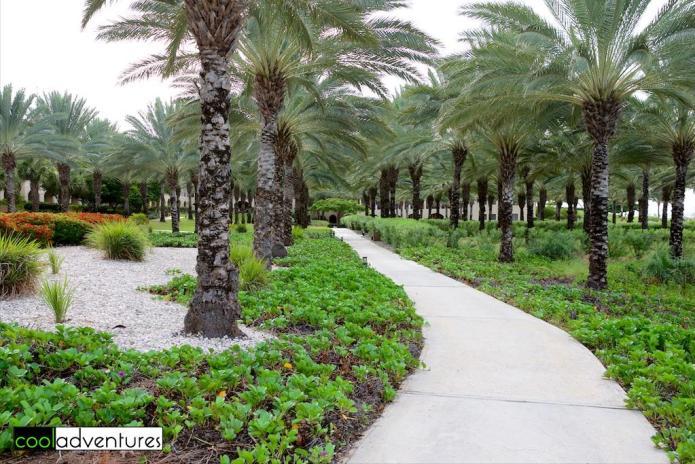 Stroll the walking paths of Santa Barbara Beach & Golf Resort, Curacao