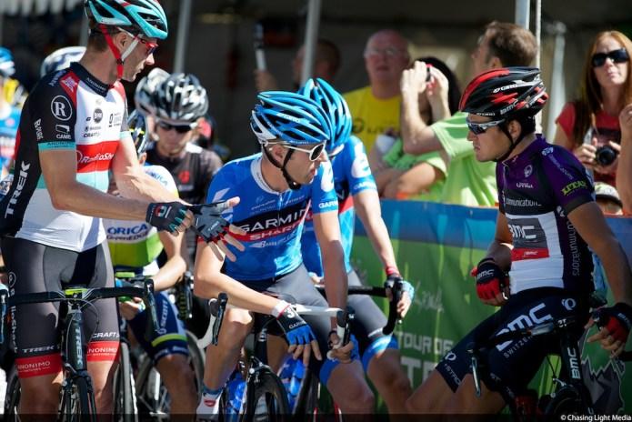 Jens Voigt, Ryder Hesjedal, Greg Van Avermaet, Tour of Utah 2013 Stage 3