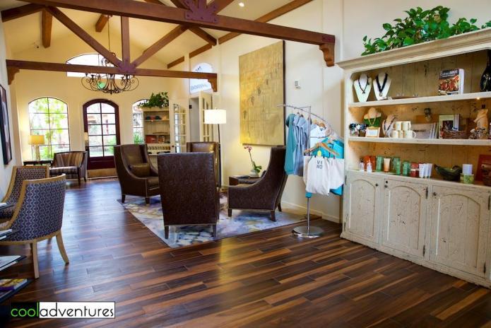 Vintner's Inn lobby, Sonoma County, California