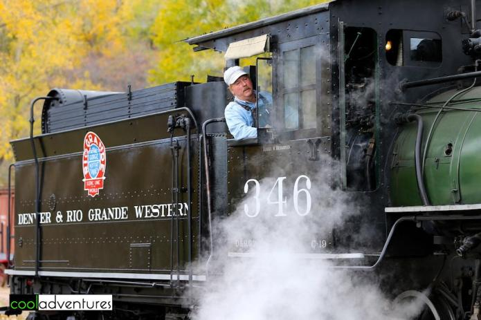 Denver & Rio Grande Western No. 346, Colorado's oldest operating steam locomotive