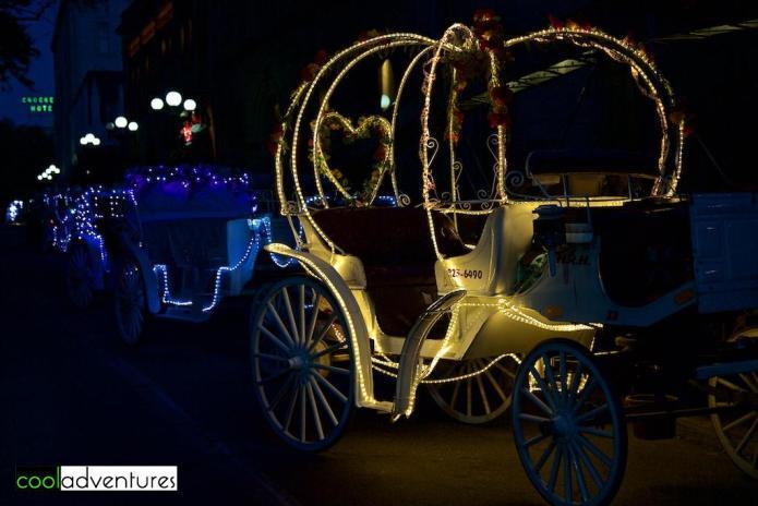 Horse drawn carriages, San Antonio, Texas