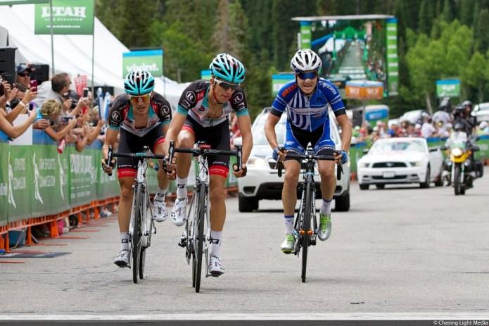 George Bennett, Matthew Busche, Lucas Euser Tour of Utah 2013 Stage 5