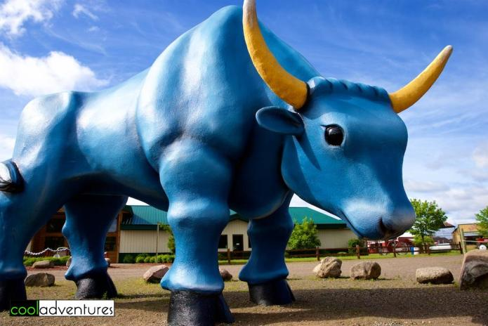 Babe the Blue Ox, Paul Bunyan Land, Brainerd, Minnesota
