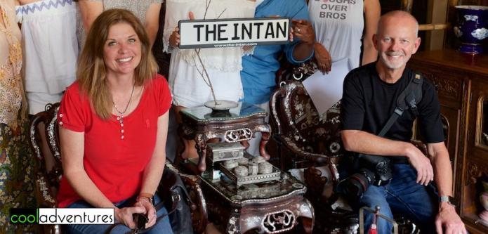 Kim and Greg Hull at The Intan, Singapore