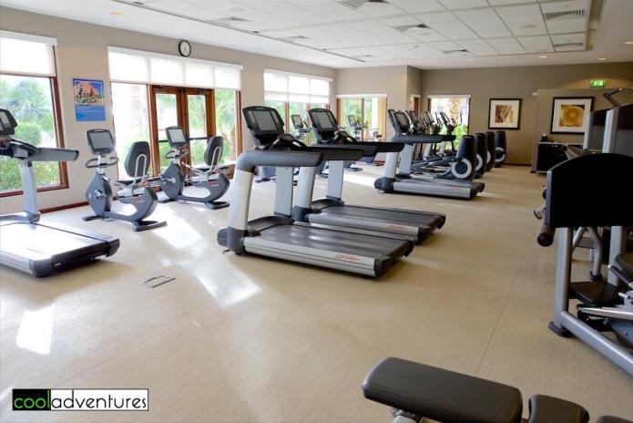 Fitness center, Santa Barbara Resort, Curacao