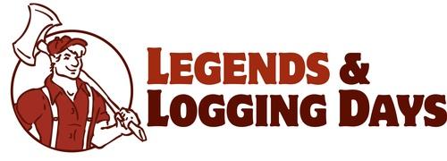 Legends & Logging Days logo