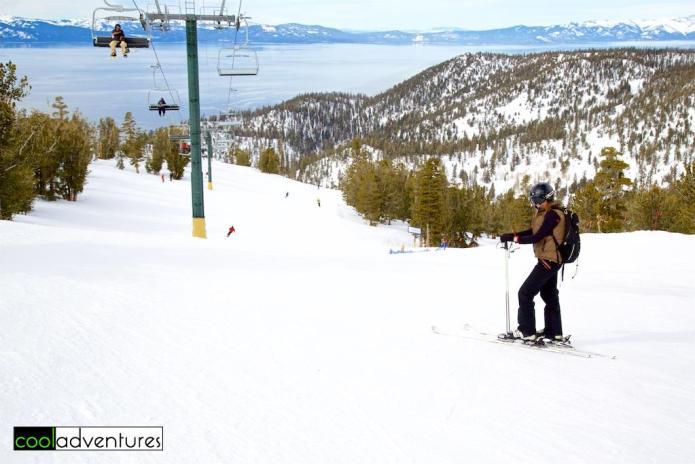 Kim Hull at Heavenly Lake Tahoe, South Lake Tahoe, California