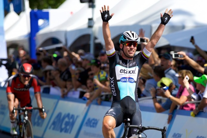 Mark Cavendish takes Amgen Tour of California 2015 stage 1