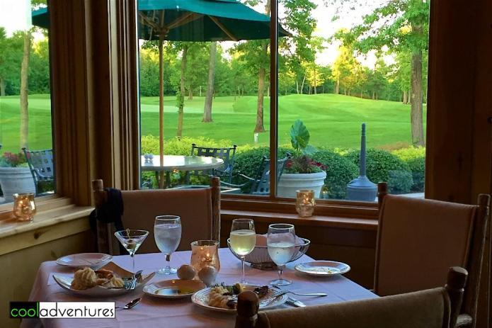 Dinner at The Classic Grill, Madden's Resort, Brainerd, Minnesota