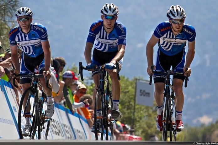 Aldo Ilesic, Jake Keough, Philip Deignan United Healthcare, Amgen Tour of California, Stage 7
