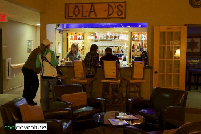 Lola D's Bar at The Lodge on Lake Detroit, Detroit Lakes, Minnesota