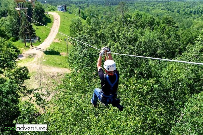 Exploring Brainerd Lakes: Brainerd Zip Line