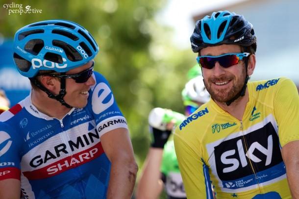 Amgen Tour of California 2014 Stage 7, Rohan Dennis, Bradley Wiggins