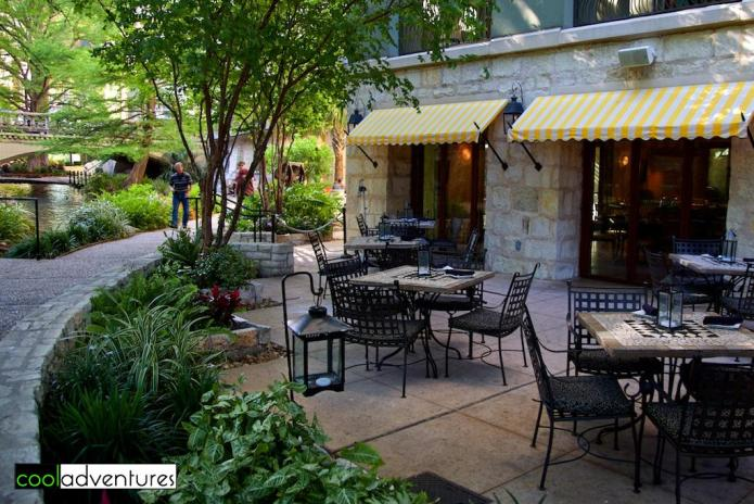Las Ramblas patio, Hotel Contessa, San Antonio, Texas