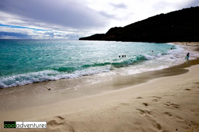 The incredibly beautiful Gouverneur Beach, Saint Barths