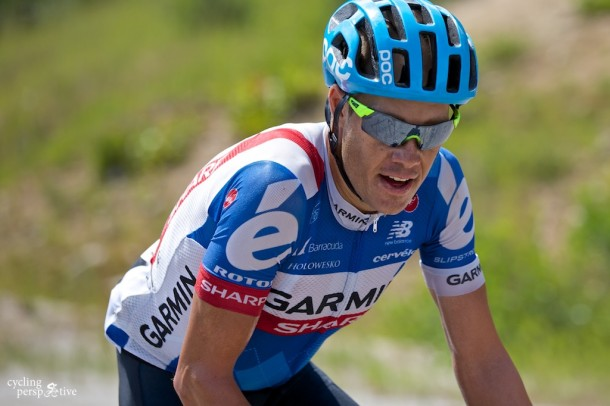 Tom Danielson 500 m from winning Tour of Utah 2014 Stage 4