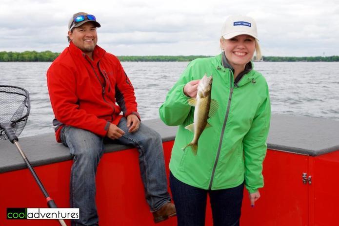 Caitlin Rick & Mike Verdeja, McQuoid's Inn, Lake Mille Lacs, Isle, Minnesota