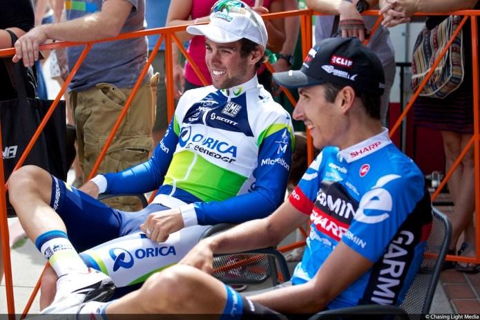 Michael Matthews, Lachlan Morton Tour of Utah 2013 Stage 6