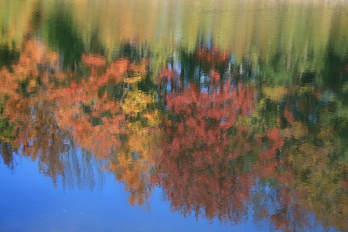 New Hampshire Hiking: Reflection