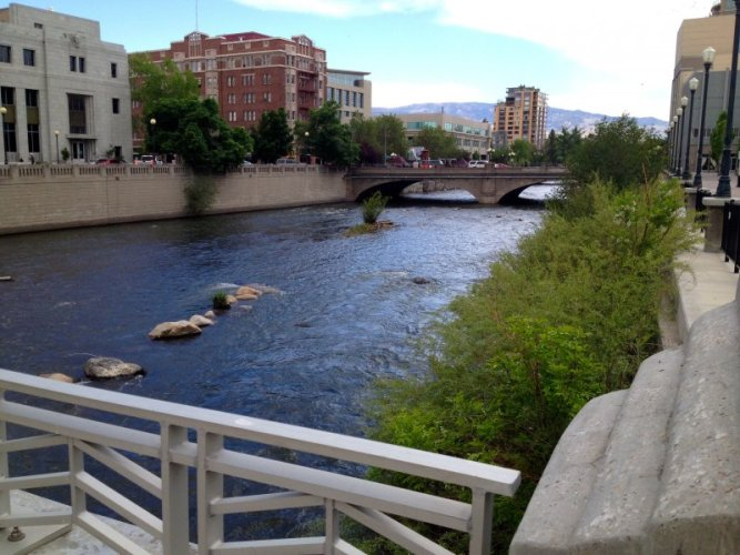 RenoTruckee River, Downtown Reno