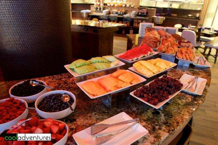 Breakfast buffet at Signature Grill at Starr Pass Resort, Tucson, Arizona