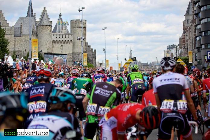 Tour de France 2015 Stage 3 start