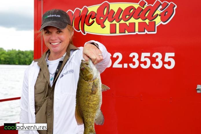 Kim Hull, McQuoid's Inn, Lake Mille Lacs, Isle, Minnesota