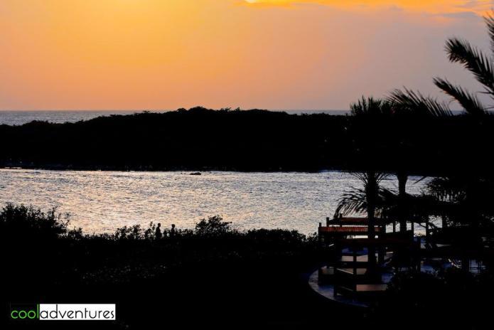 Sunset, Santa Barbara Resort, Curacao