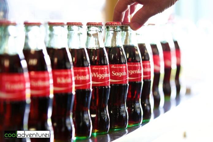 Amgen Tour of California 2016 Coca-Cola bottles