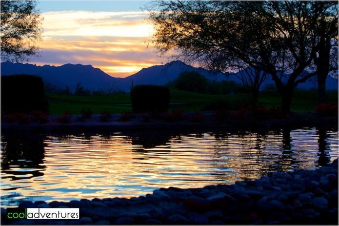 Sunrise at JW Marriott Phoenix Desert Ridge Resort & Spa, Phoenix, Arizona