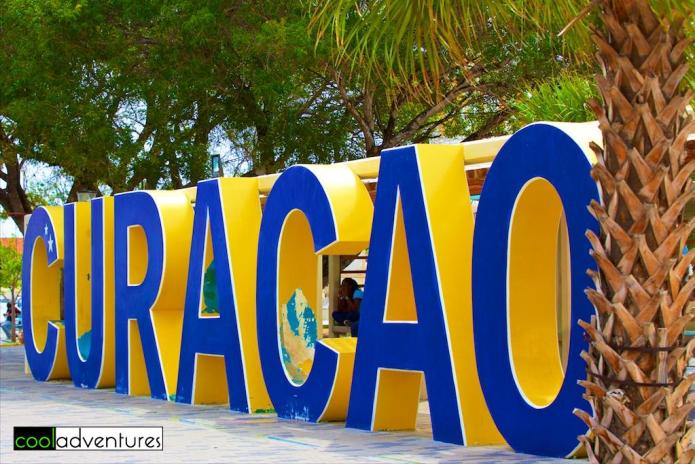 Curaçao sign, Willemstad