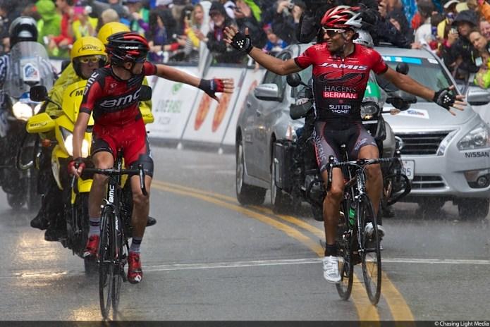 Tejay Van Garderen, Janier Acevedo USA Pro Challenge 2013 Stage 4