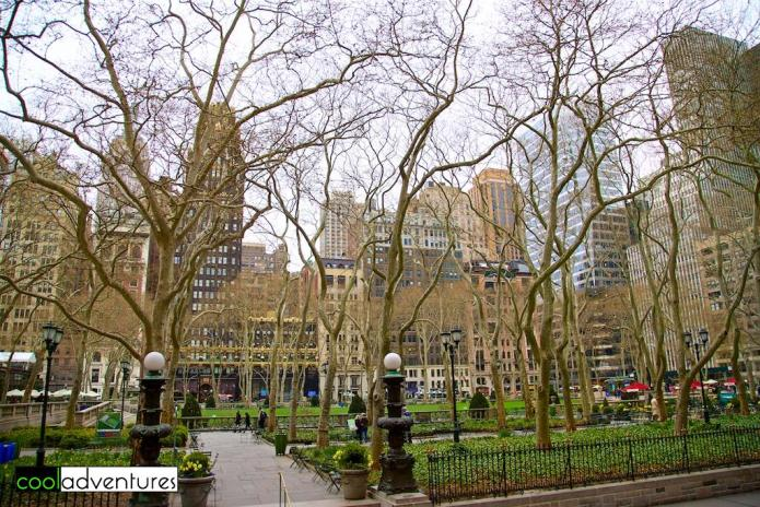 Bryant Park, New York City, New York