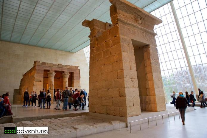 The Temple of Dendur, Metropolitan Museum of Art, New York, New York