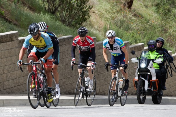 Eric Marcotte, Coulton Hartrich, Bailey McKnight, Colin Daw, Redlands Bicycle Classic 2014 Stage 1