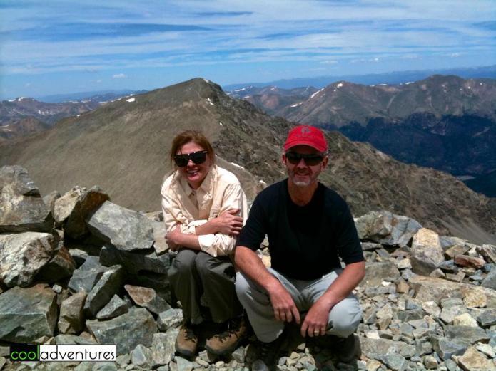 Hiking Grays Peak, Colorado