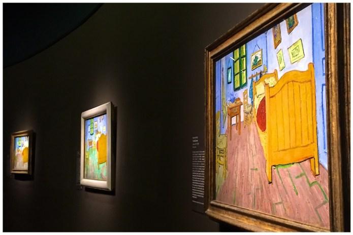 Van Gogh's Bedroom Exhibit, Art Institute of Chicago, Chicago, Illinois