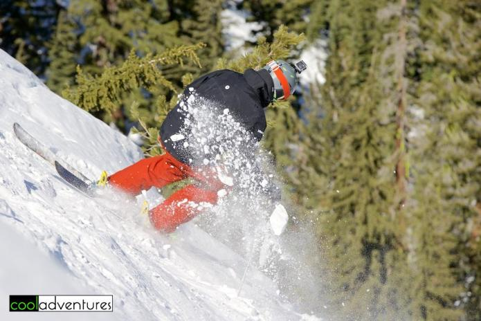 Men's skiing finals at Huckleberry Canyon, Huck Cup, Sierra at Tahoe