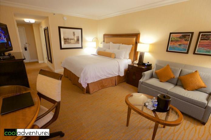 Guest room at JW Marriott Phoenix Desert Ridge, Phoenix, Arizona