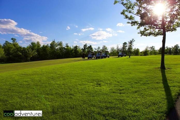 Golfing at Madden's Classic Course, Brainerd, Minnesota