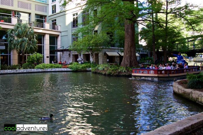 River Walk behind the Hotel Contessa, San Antonio, Texas