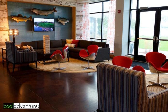 Lobby at Eddy's Lake Mille Lacs Resort