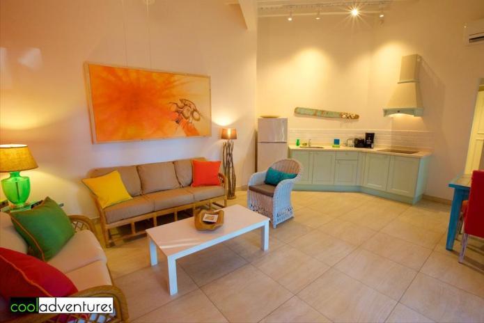 One bedroom casita at Boardwalk Small Hotel Aruba