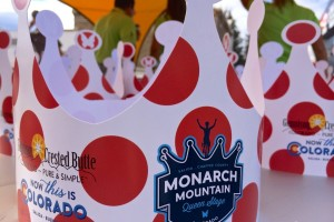 Polka-dot crowns were prolific at the USA Pro Challenge 2014 Stage 3 queen stage