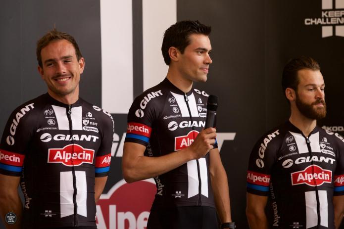 John Degenkolb, Tom Dumoulin, Simon Geschke, Team Giant-Alpecin, Tour de France 2015