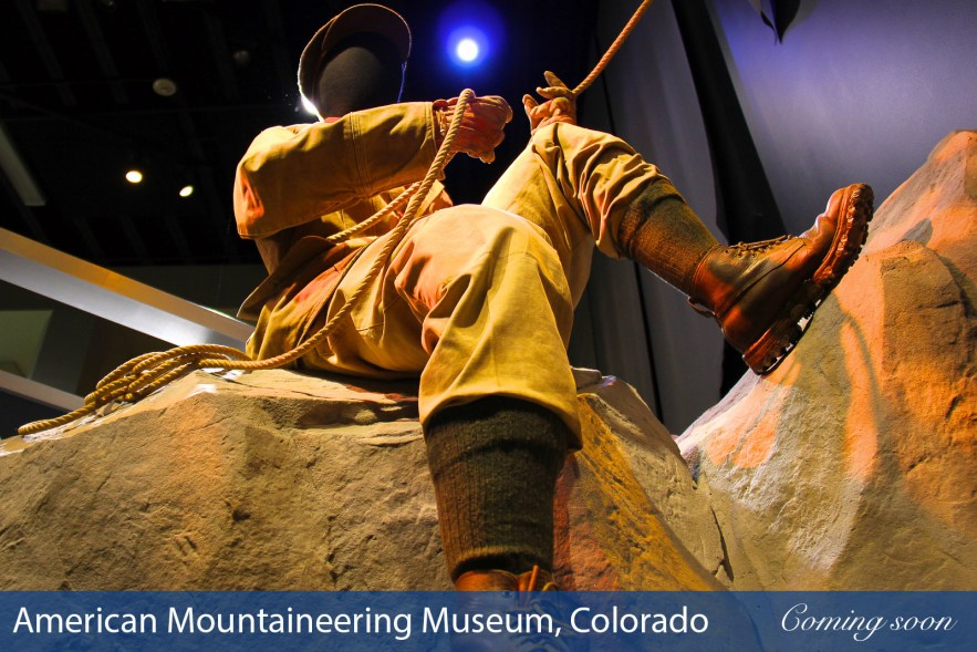 American Mountaineering Museum photographs taken by Chasing Light Media