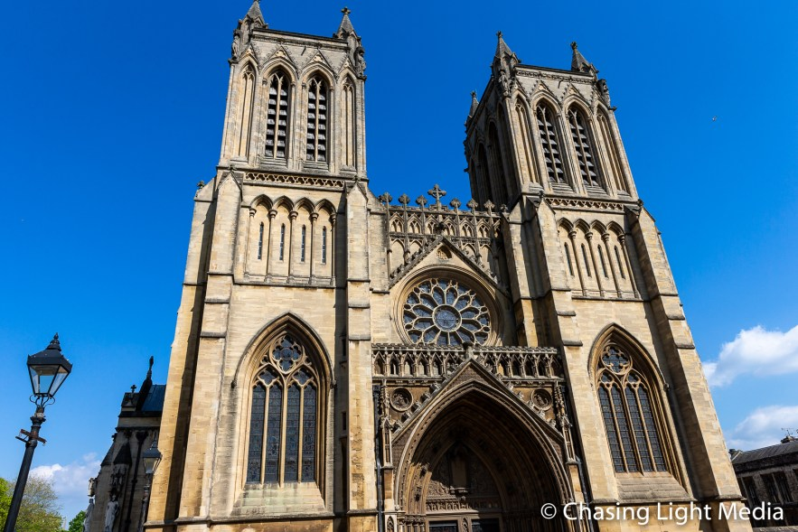Bristol Cathedral 1140 A.D., Bristol, England